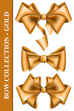Big bow collection Royalty Free Stock Photos