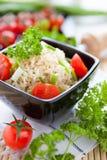 Big bowl of boiled rice Royalty Free Stock Photo