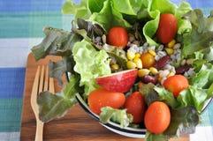 Big bowl of healthy salad Royalty Free Stock Photos