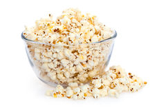 Big Bowl of Popcorn Stock Image