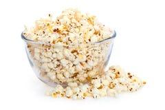 Big Bowl of Popcorn stock image