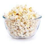 Big Bowl of Popcorn Stock Photo
