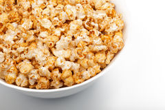 Big Bowl Of Popcorn Stock Photography
