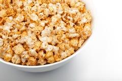 Big Bowl Of Popcorn Stock Photography