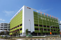 Big Box shopping center in Jurong Stock Images