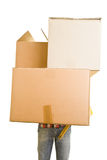 Big boxes Royalty Free Stock Image