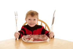 Big boy steak Royalty Free Stock Image