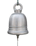 Big brass bell isolated on white Royalty Free Stock Photos