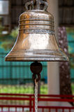 Big brass bell Royalty Free Stock Photos
