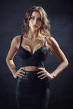 Big breasts Royalty Free Stock Photo