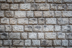 Big brick wall grunge background Stock Photo
