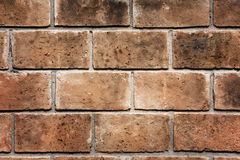 Big brick wall texture pattern background. Royalty Free Stock Photography
