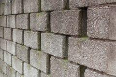 Big bricks. Wall with brick cement coarse royalty free stock photos