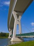 Big bridge stock image