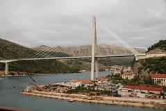 Big bridge Dubrovnik Stock Photography