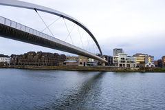 Big Bridge over the Maas river in Maastricht, Netherlands Royalty Free Stock Photography