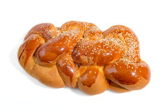 The big bright shabbat challah Royalty Free Stock Images