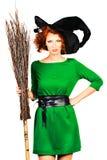 Big broom Royalty Free Stock Photography