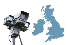 Big Brother Britain Royalty Free Stock Photo