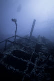 Big Brother numidia. Wreck of numdia in the red sea in egypt Stock Photos