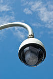 Big Brother is Watching. A street-side surveillance camera Stock Image