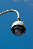 Big Brother is Watching. A street-side surveillance camera Stock Photography