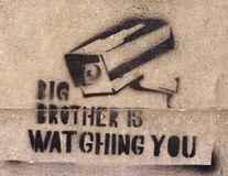 Big Brother is watching stock image
