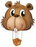 A big brown beaver balloon Stock Photo