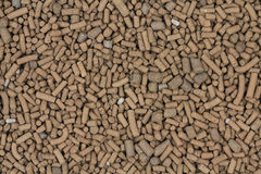 Big brown catalyst pellets  background Royalty Free Stock Image