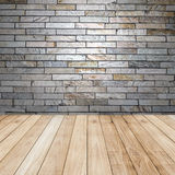 Big brown floors wood planks texture background Stock Image