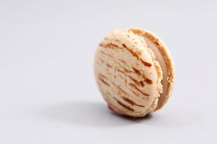Big brown macaron Royalty Free Stock Photos