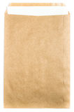 Big Brown Recycled Envelope craft document with paper letter  ca Stock Photos