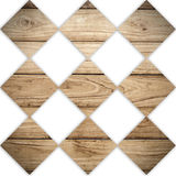 Big Brown wood plank wall pattern Stock Images