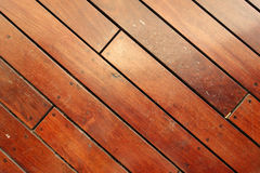 Big Brown wood plank wall texture Royalty Free Stock Photos
