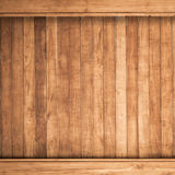 Big Brown wood plank wall texture background Stock Photography