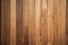 Big Brown wood plank wall texture background Stock Images