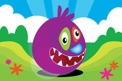 Big Bruce the Bounce Monster Royalty Free Stock Image