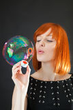 Big bubble Royalty Free Stock Image