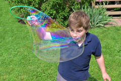 Big Bubble Royalty Free Stock Photo