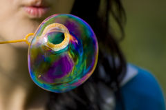 Big bubble Royalty Free Stock Photography