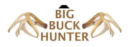 Big Buck Hunter Rendering Royalty Free Stock Photos