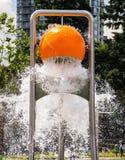 Big bucket splash 2 Stock Photography