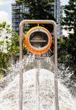 Big bucket splash 3 Stock Image