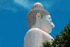 Big Budda head Thailand Royalty Free Stock Photography