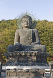 Big buddha. In the park, South Korea Royalty Free Stock Photography