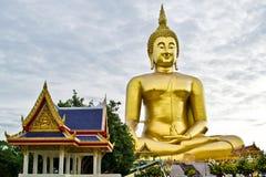 Big Buddha. Phra Buddha Maha Nawamin Sakayamunee Visejchaicharn at Wat Muang in the Ang Thong province. Also called The Big Buddha. It is the tallest statue in Royalty Free Stock Photo