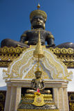 Big Buddha. Big Buddha image named Phra Buddha Maha Thammaracha in Traiphum temple at Phetchabun, Thailand Stock Image