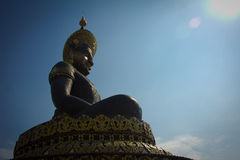 Big Buddha. Big Buddha image named Phra Buddha Maha Thammaracha in Traiphum temple at Phetchabun, Thailand Stock Photo