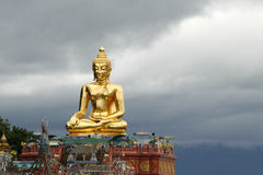 Big Buddha. A big Buddha at north Thailand near Laos and Burma Stock Photo