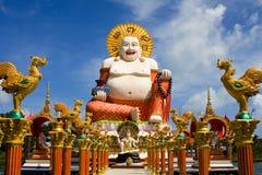 Big buddha. Big golden Buddha monument on the island of Samui, Thailand Royalty Free Stock Images